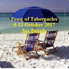 Feast of Tabernacles 2017